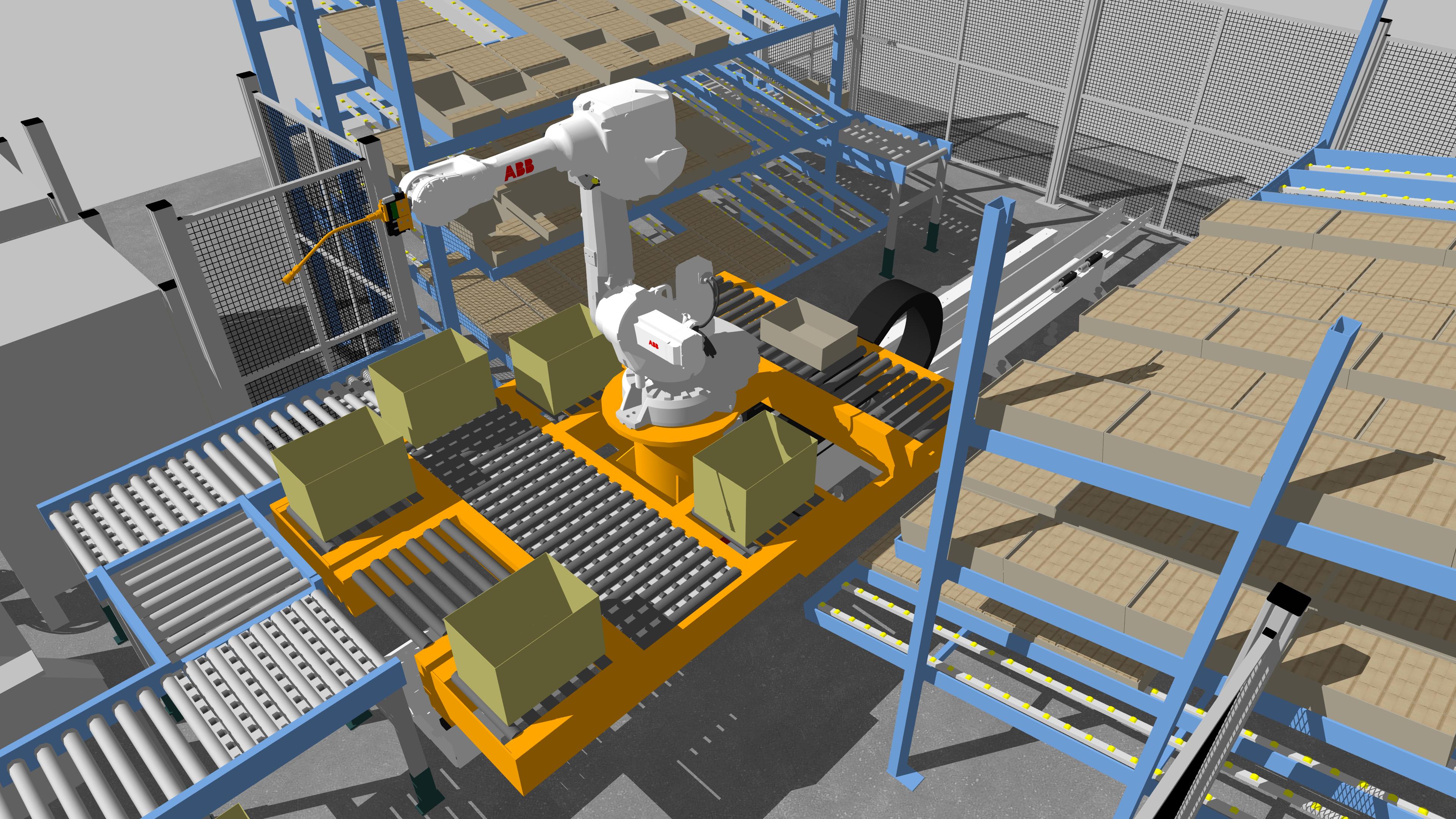 Carter Intralogistics Robotic Product Picking
